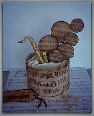 Music! - Cake by Pelegrina