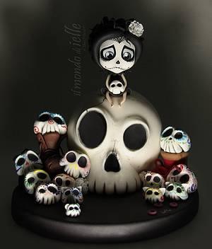 Sugar Skull Bakers 2016 - Cake by il mondo di ielle