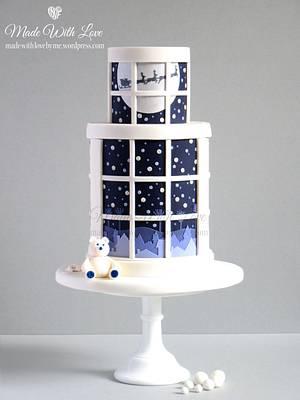'Twas the Night Before Christmas' Cake - Cake by Pamela McCaffrey