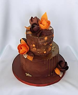 Chocolate and chocolate - Cake by Zuzana Bezakova