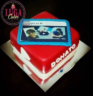Youtube tablet cake - Cake by Luga Cakes