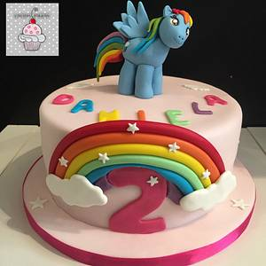 My Little Pony Cake - Cake by Laura's Bakery