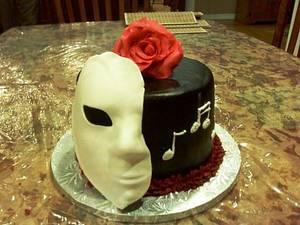 Phantom of the Opera - Cake by Maureen