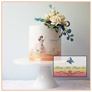 """Vintage Fairy Ballerina"" - Cake by Allways Julez"