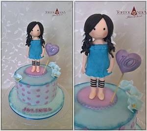 Gorjus for Julia - Cake by Tortolandia