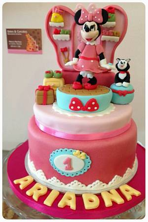 Minnie Cake.. - Cake by Mónica