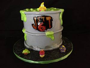 Trash pack cake - Cake by Lesley
