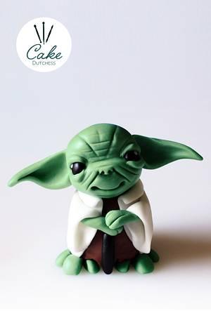 Yoda Caketopper - Cake by Etty