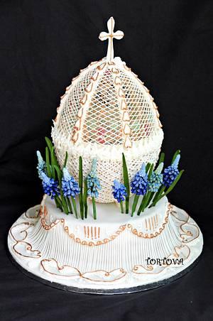 Easter egg  - Cake by Anna