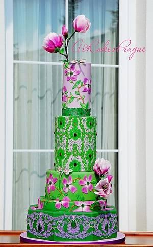 Botanical Garden. Magnolia - Cake by Art Cakes Prague
