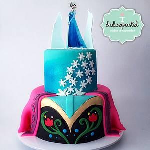 Torta Frozen Medellin Cake - Cake by Dulcepastel.com