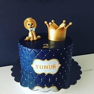 Gold Lion King Cake - Cake by Şebnem Arslan Kaygın