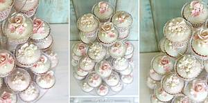 Wedding cupcakes - Cake by Lorna