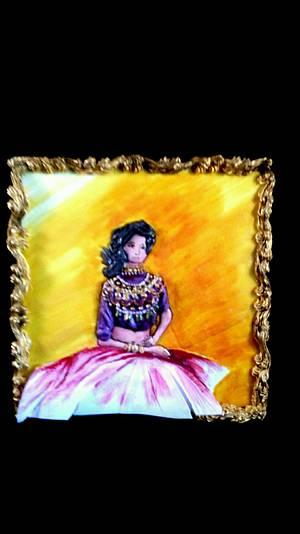 The jewelled Diva - Cake by Shillpa Bhaambri