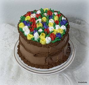 2nd Wedding Anniversary Cake - Cake by Sweet Dreams by Heba