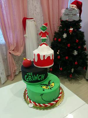 The Grinch cake - Cake by Marco Lombardi