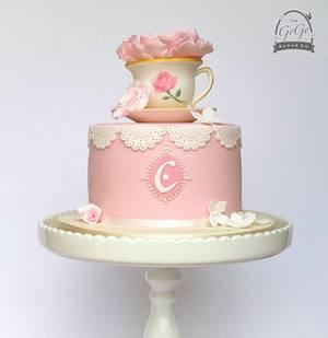 Afternoon tea cake - Cake by Natasha Thomas