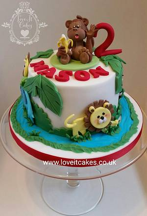 Jungle cake - Cake by Love it cakes