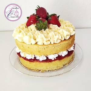 TARTA REINA VICTORIA - Cake by Camelia