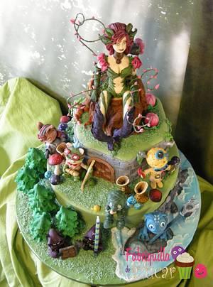 LEAGUE OF LEGENDS - Cake by Fabriquilla de Azucar