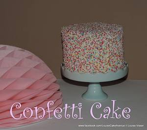 Confetti cake - Cake by Louise