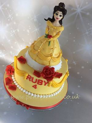 Belle. - Cake by Penny Sue