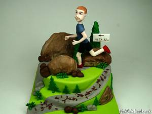 Cake for Him - Cake by Beatrice Maria