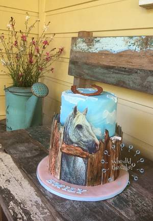 A cake for Emily - Cake by Who did the cake (Helen Wilkinson)