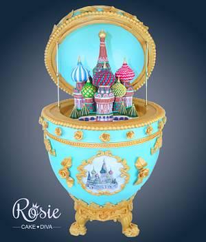 Faberge Egg Cake - Cake by Rosie Cake-Diva