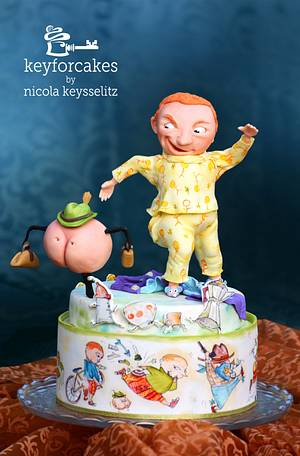 An independent Bum - Everyone's story matters Collaborattion - Cake by Nicola Keysselitz