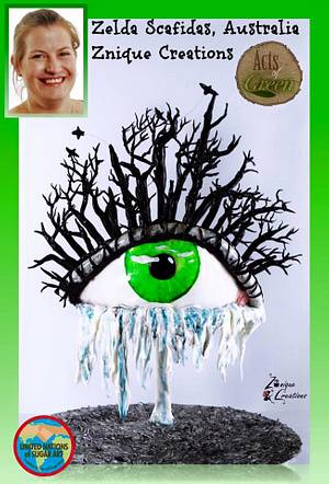 Acts of Green - UNSA 2016 Nature is Crying  - Cake by Znique Creations