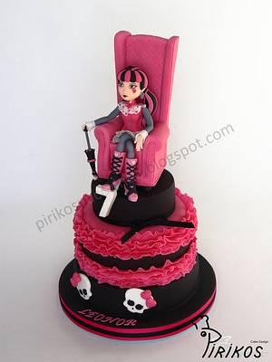 DracuLaura - Cake by Pirikos, Cake Design