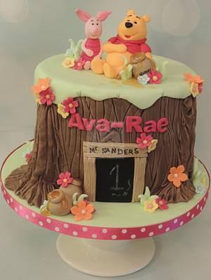 Poo bear & piglet - Cake by Shereen