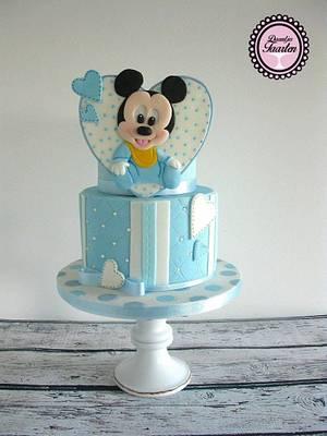 Babyshower cake💙 - Cake by Daantje