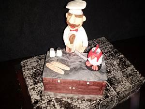 swedish chef  - Cake by Jacqueline