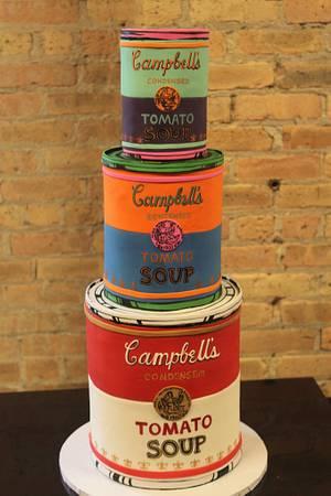 Andy Warhol - Cake by Dina
