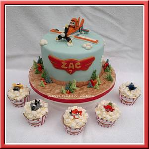 Planes 2-fire/rescue for Zac - Cake by AWG Hobby Cakes