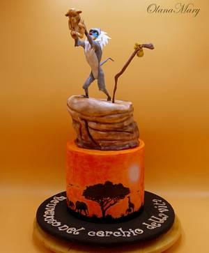 The Lion King - Cake by Olana Mary