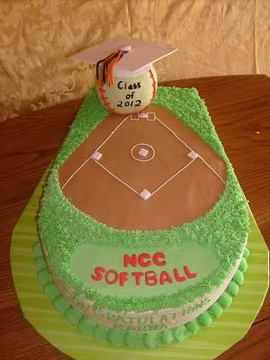 Graduation - Cake by Pamela