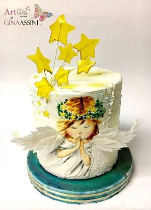 Angel  - Cake by Gina Assini