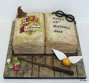 A Magical Harry Potter Cake - Cake by Nikki