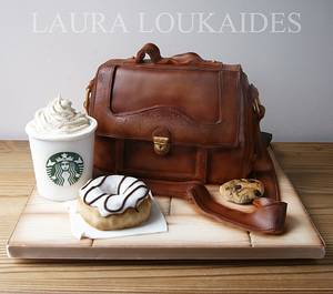 The Beloved Satchel - Cake by Laura Loukaides
