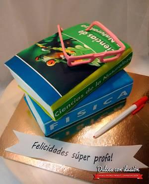Books cake - Cake by Dulces con ilusion