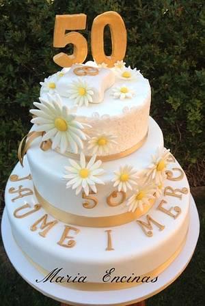 Tart lemon and white chocolate - Cake by mariaencinas
