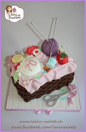 Sewing kit cake  - Cake by Lealu-Sweets