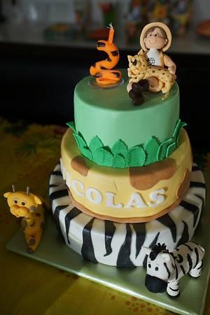 Safari-Look - Cake by Adéla