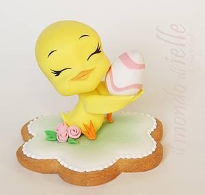Easter Chick - Cake by il mondo di ielle