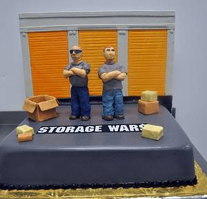 Storage Wars Groom Cake! - Cake by Leo Sciancalepore