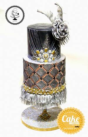 Shimmer & Shine for CakeMasters Magazine - Cake by Slice of Heaven By Geethu