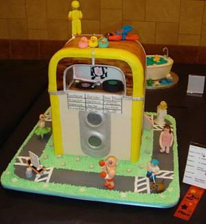 JukeBox - Cake by Karie Collins